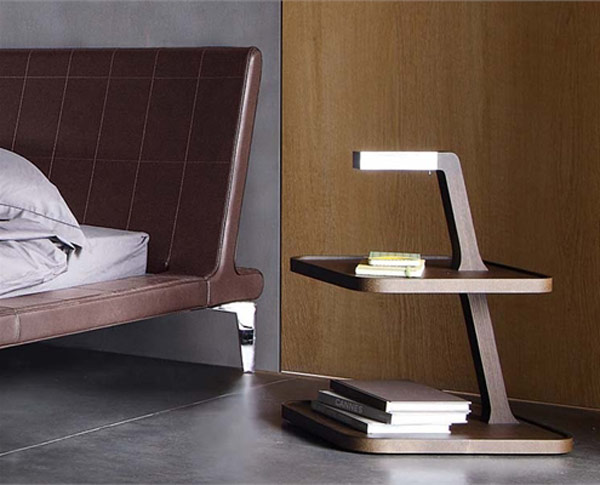 55 cool non conventional bedside tables digsdigs for Mini table de chevet