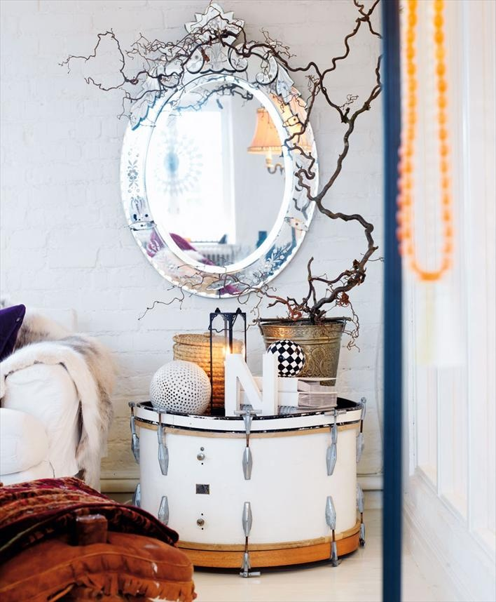 55 Cool Non-Conventional Bedside Tables