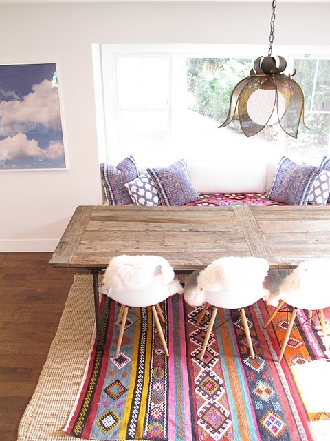 39 Original Boho Chic Dining Room Designs Digsdigs