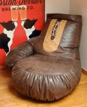 Original Boxing Glove Chair For Sport Fans
