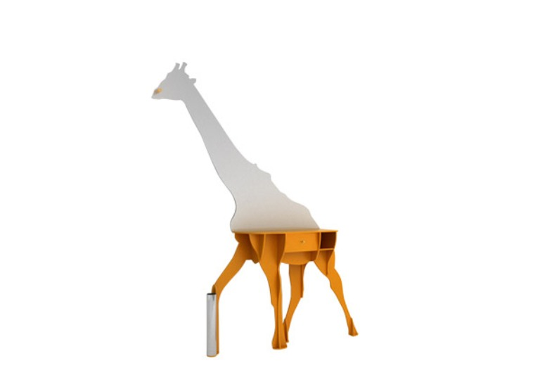 Original Giraffe Shaped Sideboard