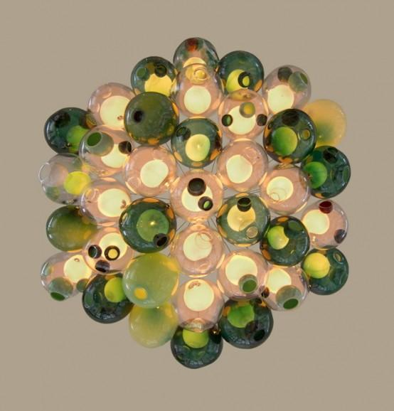 Original Glass Orbs 28.37 Pendant By Bocci