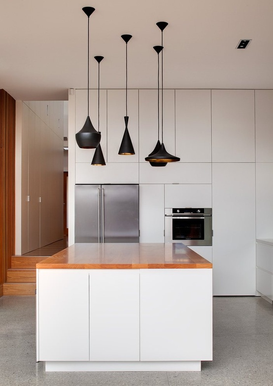 57 original kitchen hanging lights ideas digsdigs - Modern pendant lighting for kitchen ...