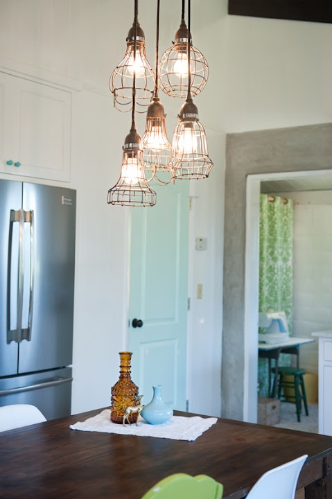 57 original kitchen hanging lights ideas digsdigs - Industrial lighting fixtures for kitchen ...