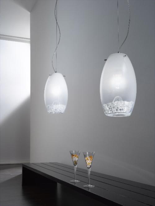 Original Lamps With Incrustation