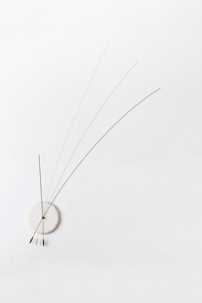 Original Minimalist Clock With Flexible Hands
