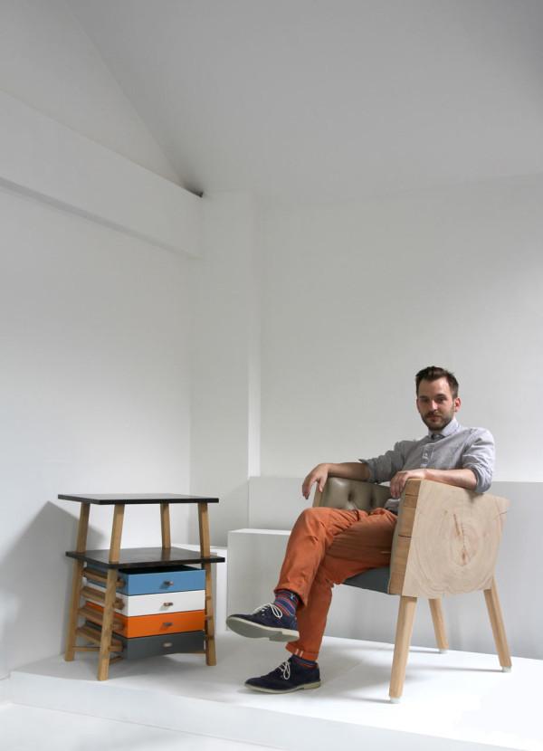 Original Parity Pedestal Set Of Drawers By Gareth Batowski