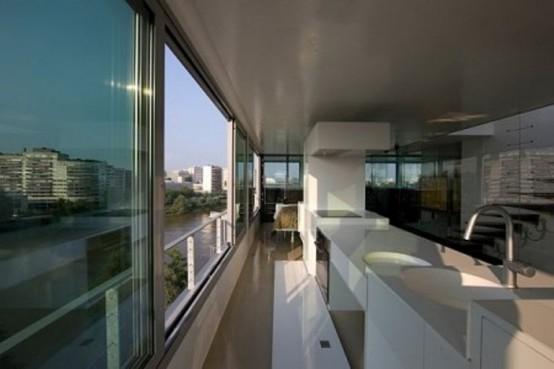 Original Penthouse With Glass Doors Everywhere