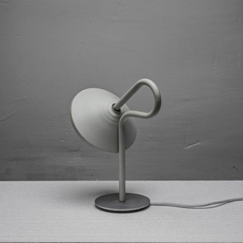 Original Round Lamp With A Looping Stem