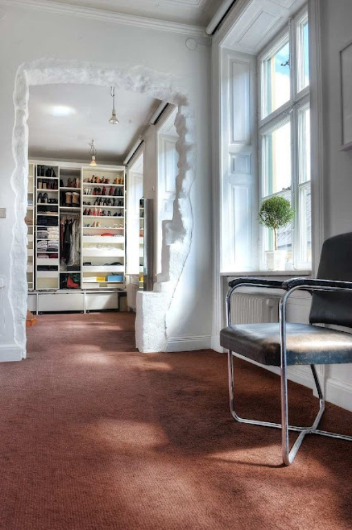 Original Scandinavian Interior With Play Of Materials And Colors