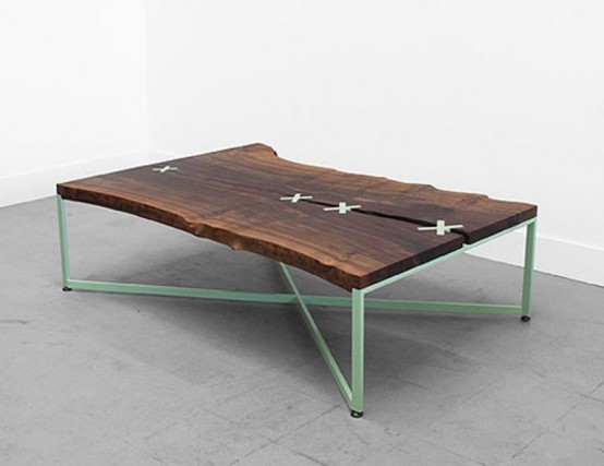 Original Stitch Conversation Table  by Uhuru Design