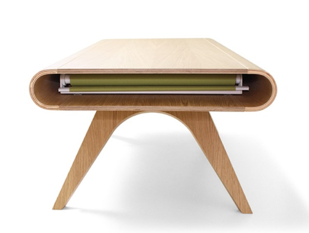 Original Tabrio Table With A Stain-Resistant Surface
