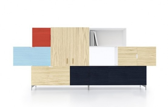 Original Tetris Storage Of Different Colors And Materials