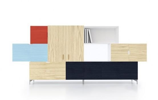 Original Tetris Storage Of Different Colors And Materials