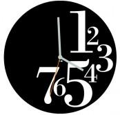 Original Wall Clock By Dario Serio