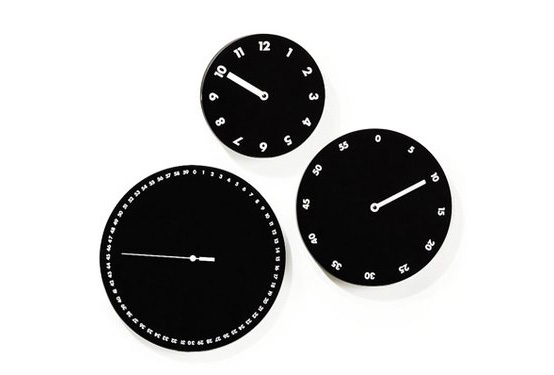 Original Wall Clocks By Dario Serio