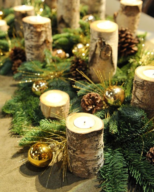 32 original winter table d cor ideas digsdigs - Table pour noel decoration ...