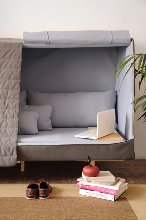 Orwell Cabin Sofa For Comfort And Intimacy