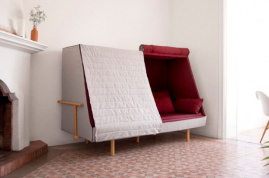 Orwell Cabin Sofa For Cabin And Intimacy