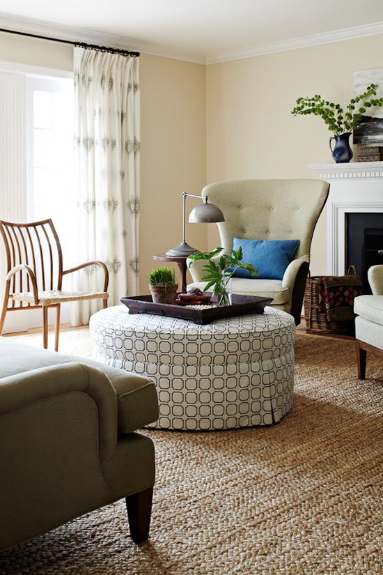 Ottomans As Coffee Tables