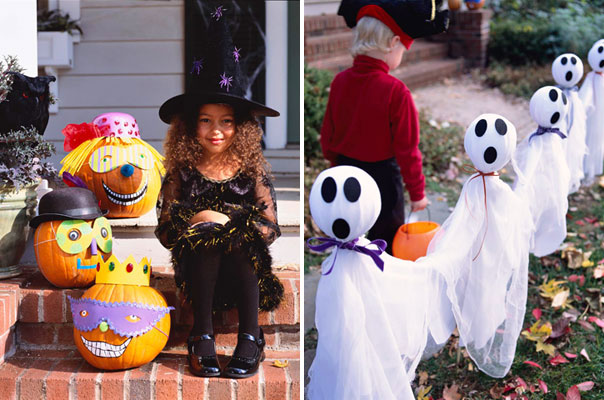 Outdoor Hallowen Decorating Ideas