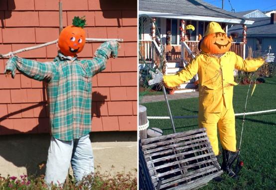 Outdoor Hallowen Decorating Ideas