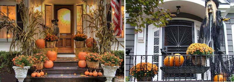 90 cool outdoor halloween decorating ideas digsdigs for Deco exterieur halloween