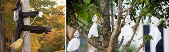 outdoor hallowen decorating ideas - Halloween Decoration Ideas For Outside