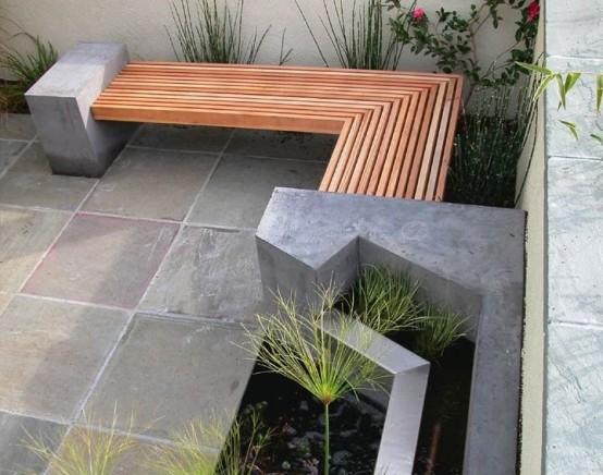 Cool Outdoor Decor Trend Concrete Furniture Pieces