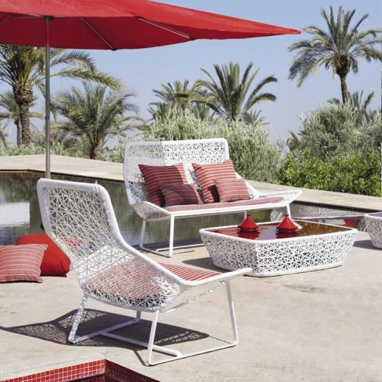 Elegant Aluminum Outdoor Furniture By Kettal