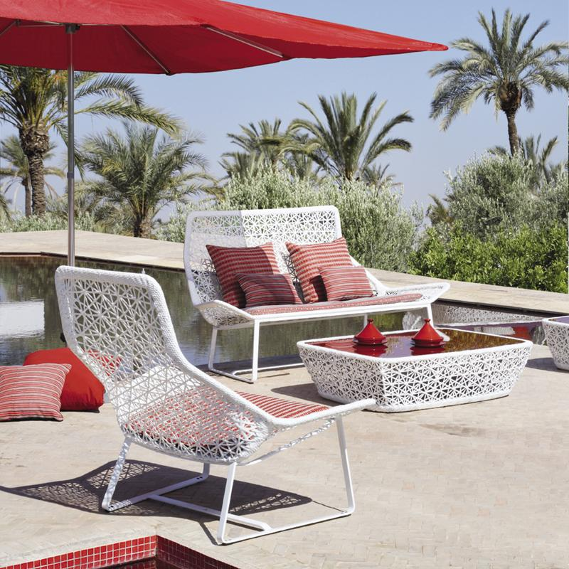 Aluminum outdoor furniture by kettal digsdigs for Kettal muebles jardin