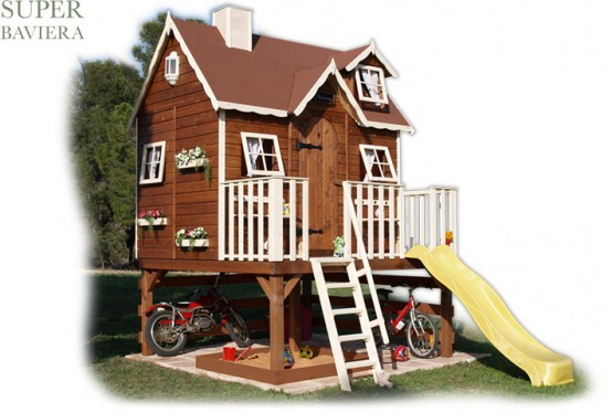 Cool Outdoor Playhouses For Kids Part 42