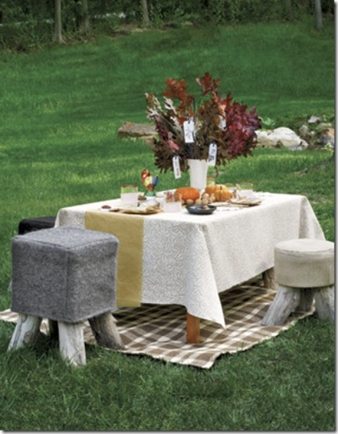 30 Outdoor Thanksgiving Dinner D Cor Ideas Digsdigs