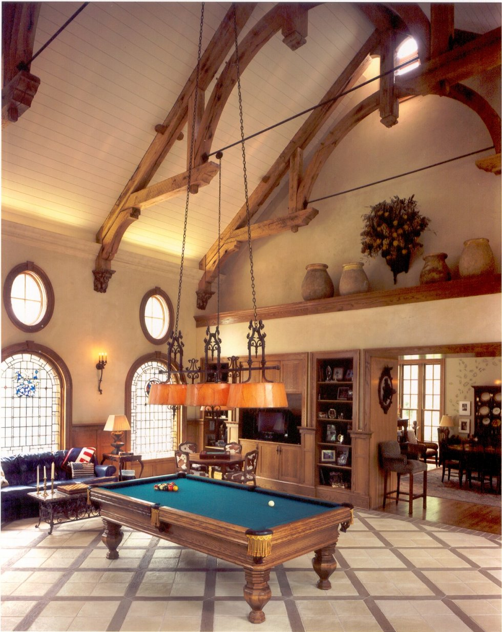 5 outstanding billiard room designs digsdigs for Game room design ideas