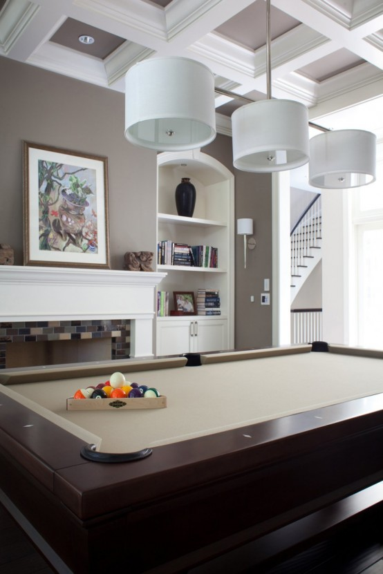 Outstanding Billiard Room Designs