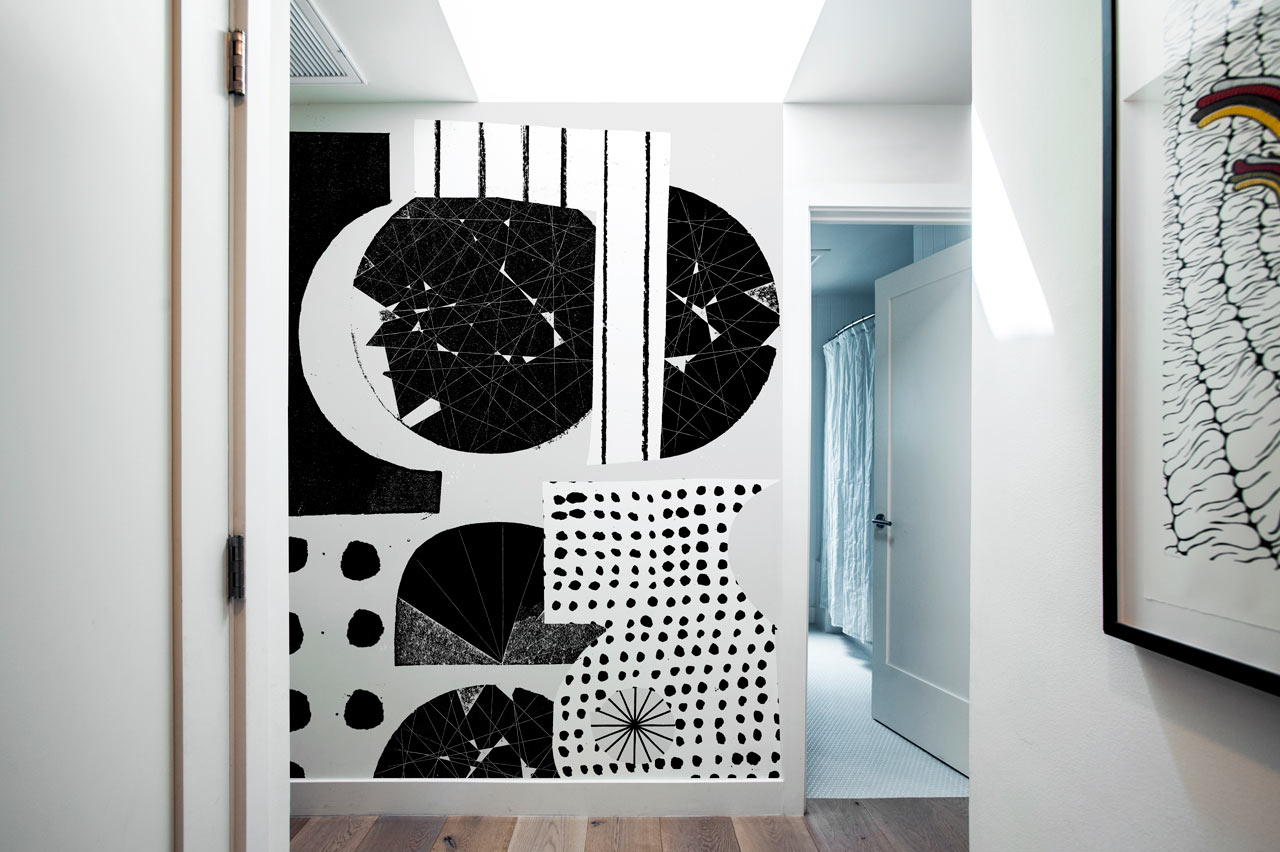 Picture Of oversized graphic wall panels to make a statement  1