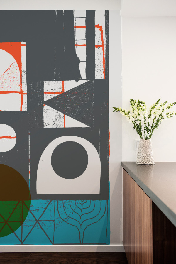 Picture Of oversized graphic wall panels to make a statement  10