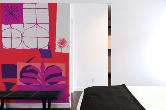 Picture Of oversized graphic wall panels to make a statement  11