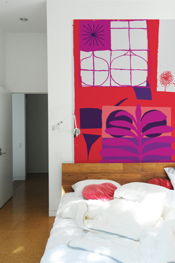 Oversized Graphic Wall Panels To Make A Statement