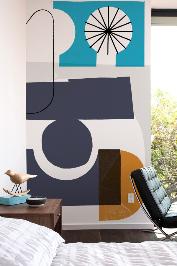 Picture Of oversized graphic wall panels to make a statement  13