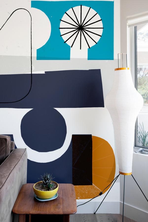 Picture Of oversized graphic wall panels to make a statement  14