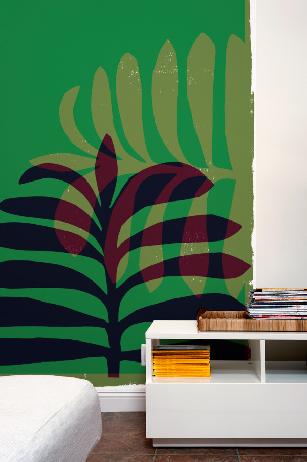 Picture Of oversized graphic wall panels to make a statement  15