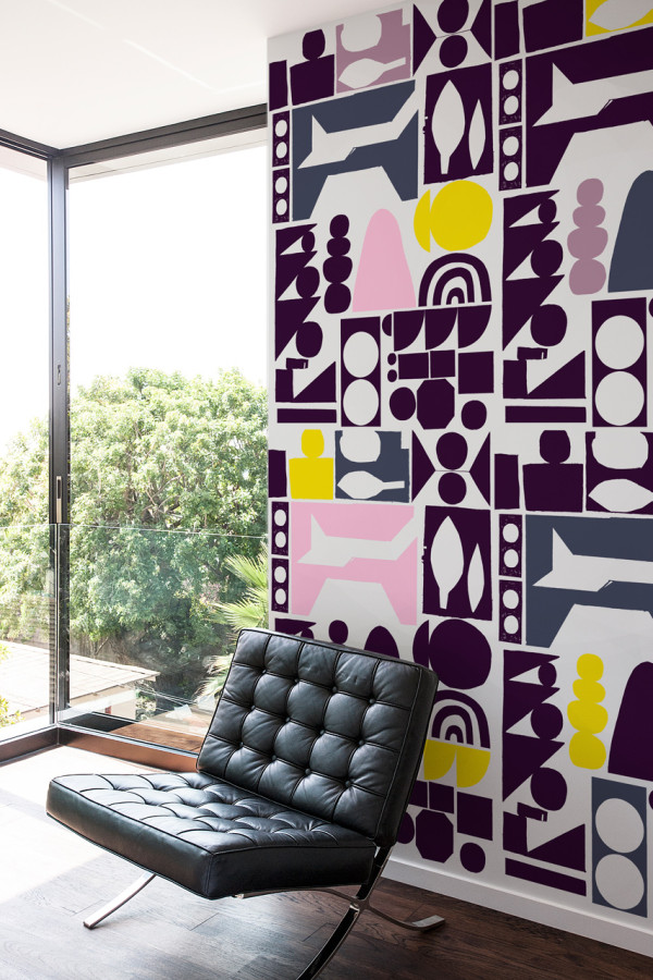 Picture Of oversized graphic wall panels to make a statement  4