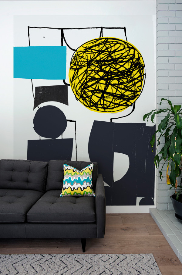 Picture Of oversized graphic wall panels to make a statement  5