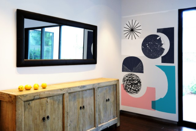 Picture Of oversized graphic wall panels to make a statement  7