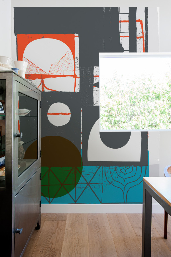 Picture Of oversized graphic wall panels to make a statement  9
