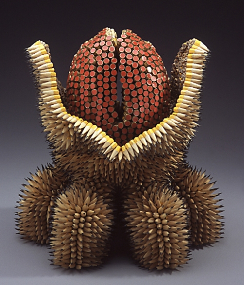 Sculptures Made Of Pencils