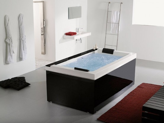 Pacific Bathroom Spa Tub With Music 2 Person