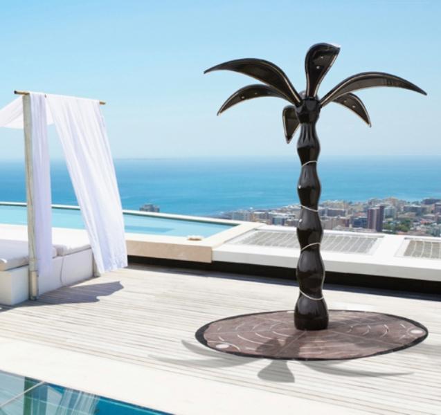Ultra-Modern Palm-Tree Garden Shower
