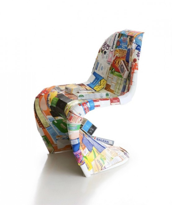 Eco-Sustainable Panton Chair Designs